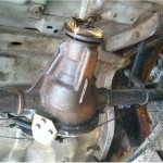 A clean back axle