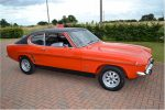 1973 Ford Capri Mk1 in the Sun